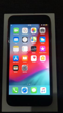 Vendo ou troco iPhone 8 Plus Red 64