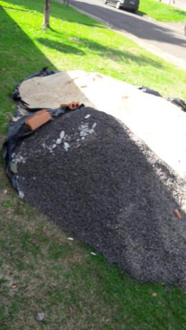 DOAÇÃO - Areia e Pedra brita leia.
