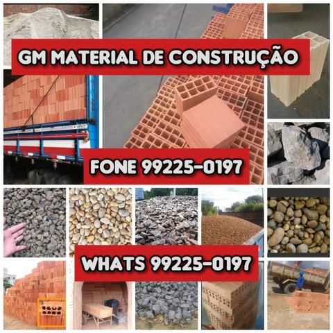 Material de construção Tijolo Areia Seixo Barro Brita