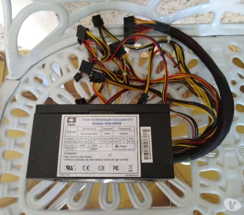 Vendo processador, placa mãe, memórias e fonte para pc