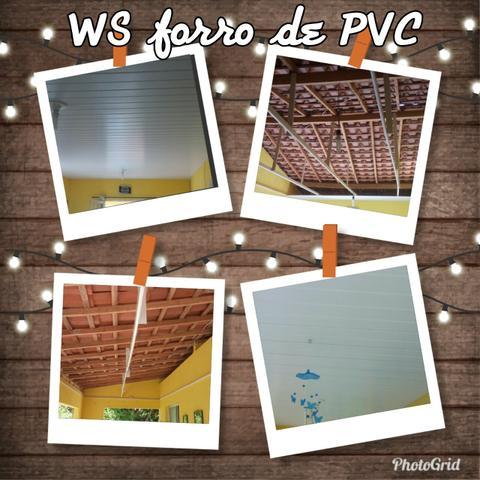WS forro de PVC perfilplast está em promoção R$  o