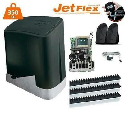 Motor De Portão Eletrônico Deslizante DZ H. Jet Flex 1/4hp