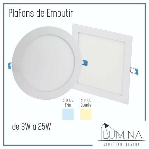 Spot, Plafon e Luminária de LED