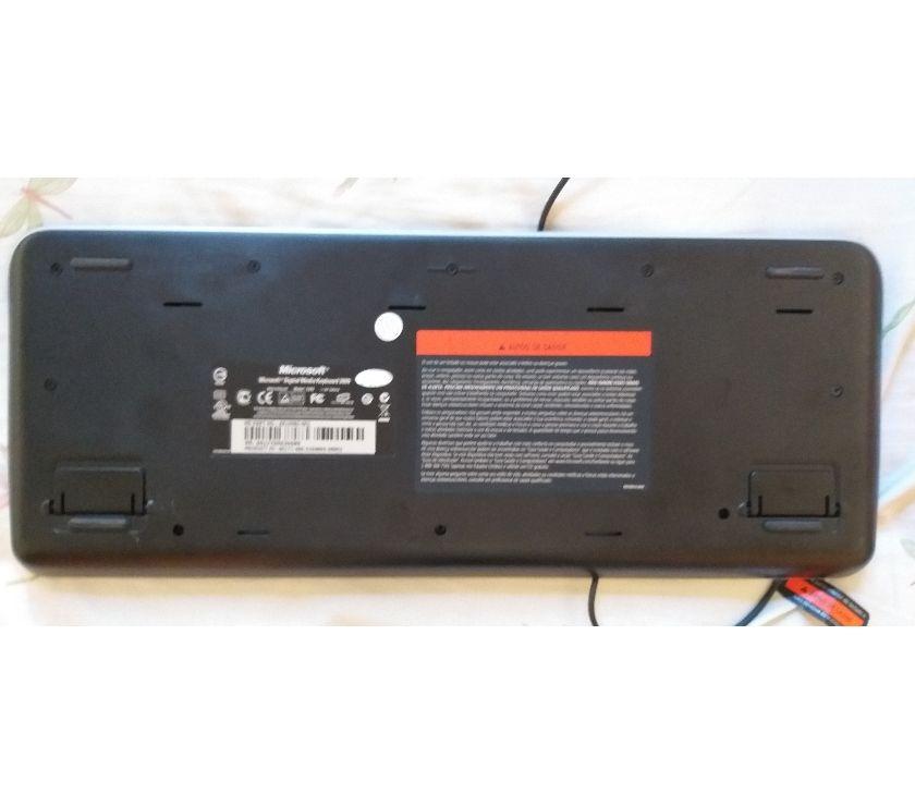 Teclado usb com fio, marca microsoft, serie , modelo 13