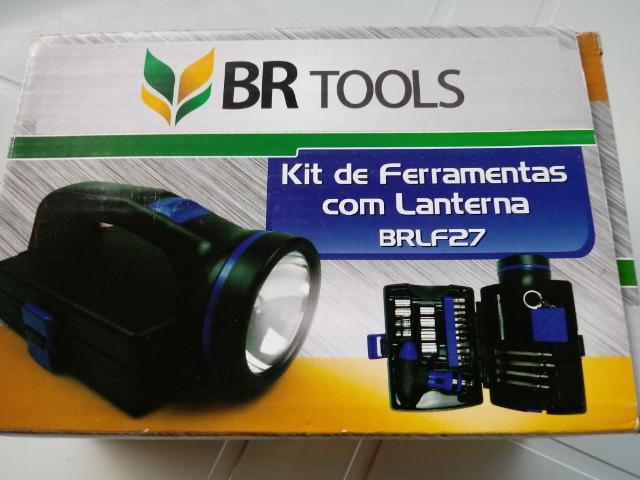 Vendo Kit de Ferramentas com lanterna