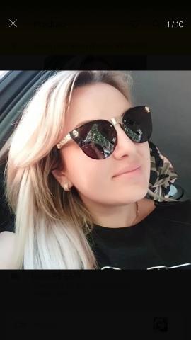 Óculo de sol feminino da marca merrys lentes polarizadas