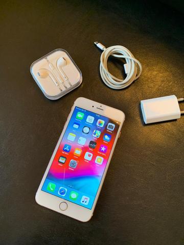 IPhone 6S plus 16 gigas rose sem defeitos divido no cartão