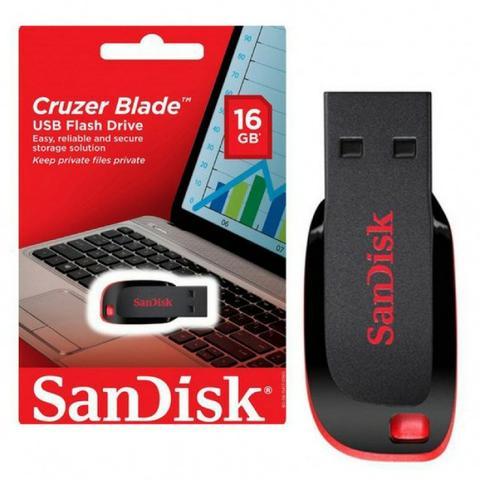 Kit 4 Pen Drive 16gb Original Sandisk Promocional Para
