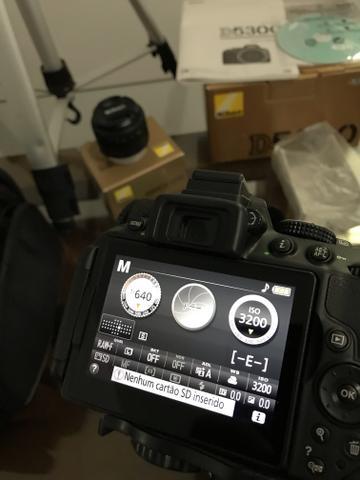 Kit fotógrafo Nikon D kit Semi nova com 2 lentes +