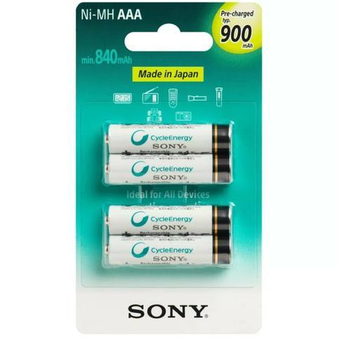 Pilhas Recarregáveis Sony