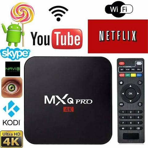 Tv box mxq 4k pró androide 7.1