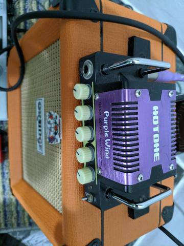 Amplificador Hotone Purple Wind Caixa Orange Ppc108