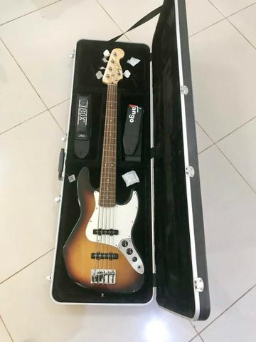 Fender Jazz Bass 5C + Case