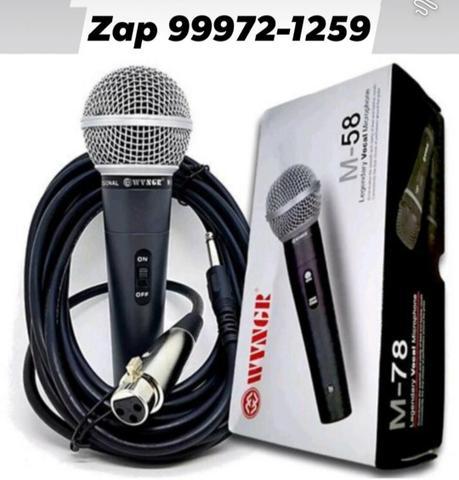 Microfone Profissional Sm58 M58