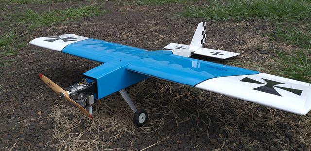 Aeromodelo stick 20cc