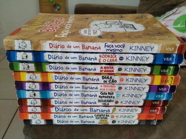 Aproveite uma Coleção Completa dos Livros Diário de um