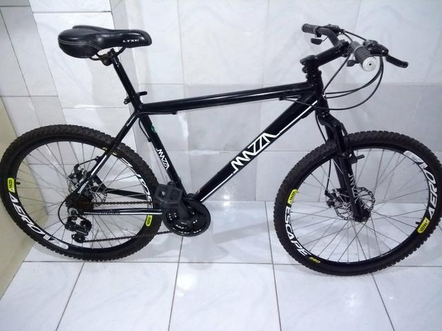 Bicicleta Mazza Nova, Aro 26, Aluminio, Freios a disco,
