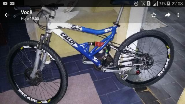 Bike abençoada troco em aro 29