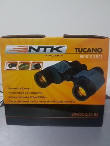 Binóculo Nautika Tucano 8x40mm novo, na garantia