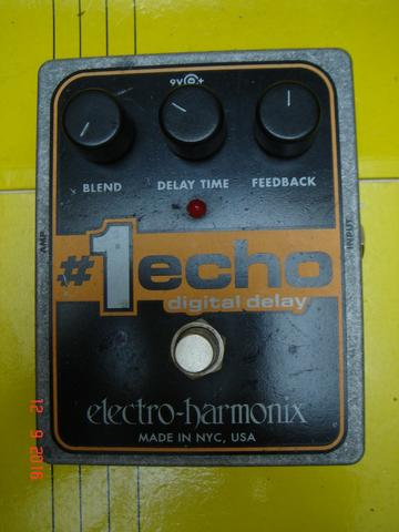Pedal Electro Harmonix #1echo Made In Usa