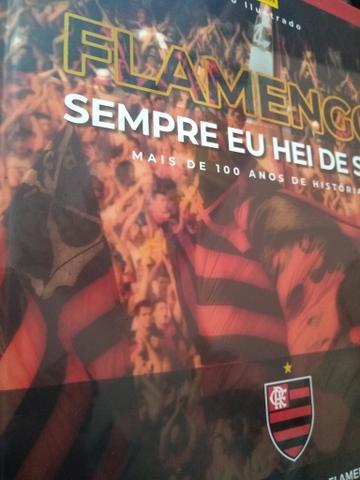 Álbum capa dura completo Flamengo