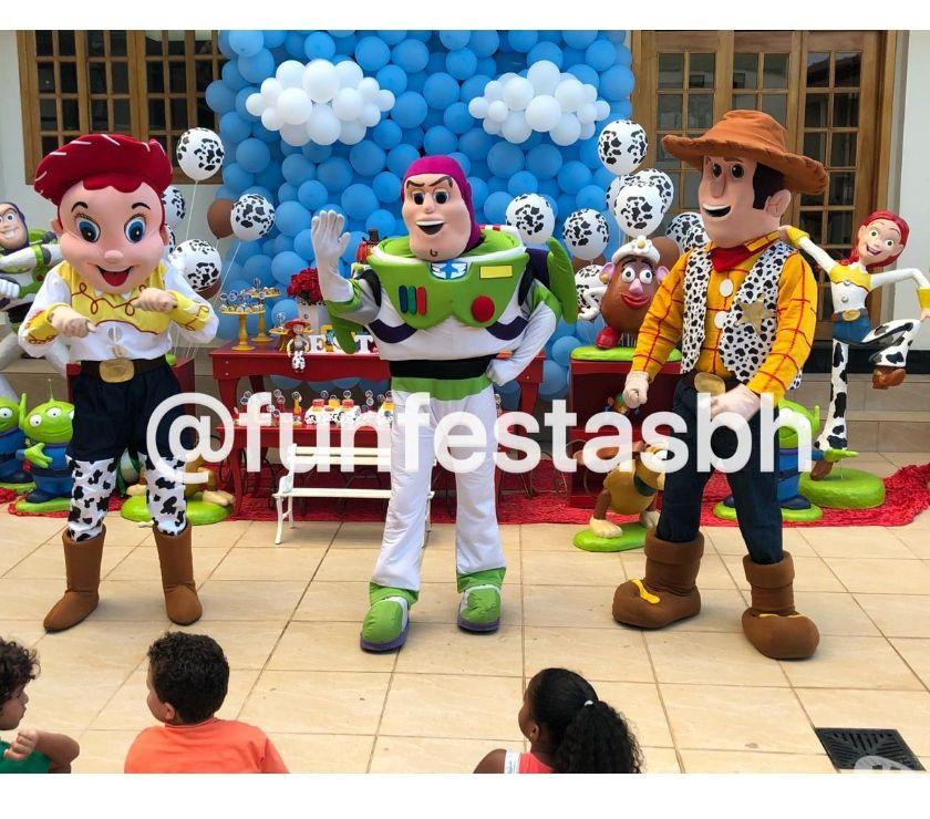 Personagens Toy Story Buzz Lightyear na sua festa em BH