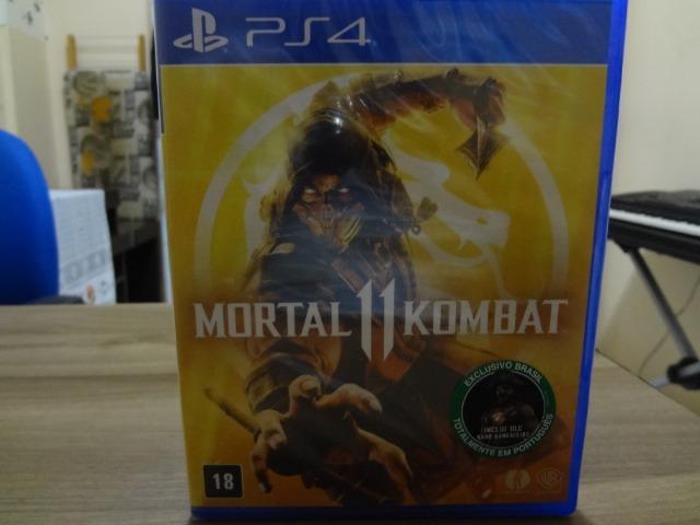 04 Jogos para Playstation 4 / Play 4 / PS4 + Mortal Kombat