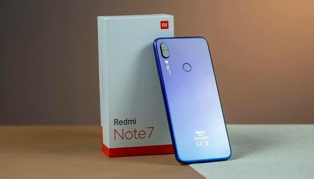 Celular Redmi Xiaomi Note 7 Azul 4/64gb- Novo caixa lacrado