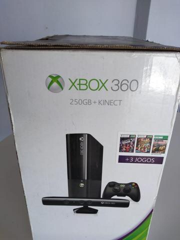 Xbox gb com kinect e jogos