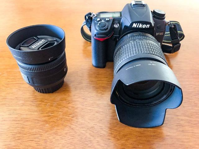 Câmera Nikon D - Super Conservada com lente Nikkor VR