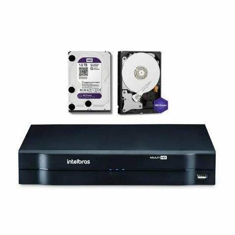 DVR MULTIHD INTELBRAS 4 CANAIS 1 Tera de HD(entrega linha