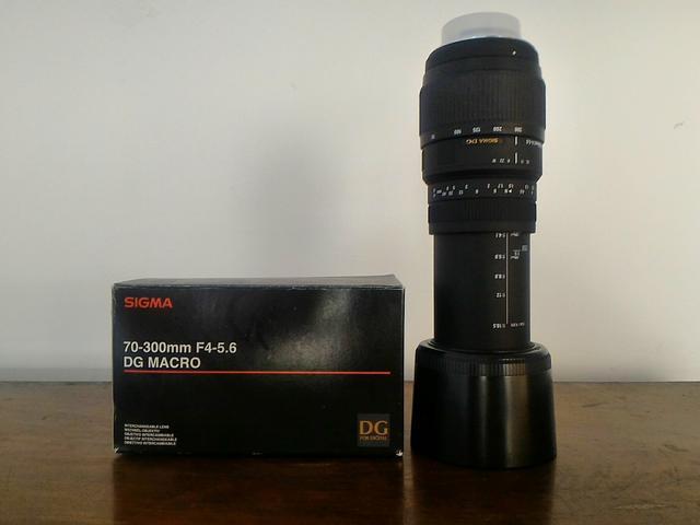 Lente Sigma  mm Macro para Nikon