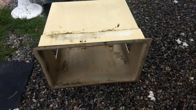 Caixa em Fibra para ar condicionado