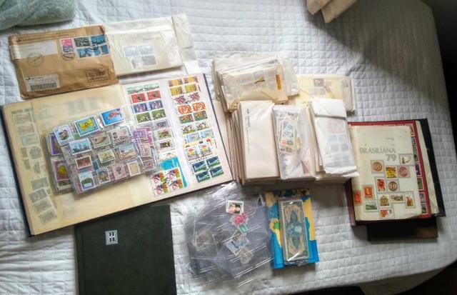 Coleção de Selos de todo mundo