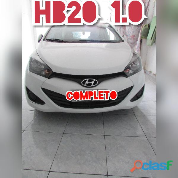 Hb20 1.0 5 portas, branco único dono