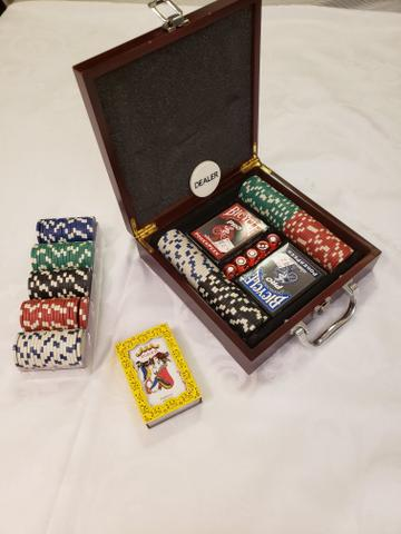 Jogo de poker. COMPLETO!