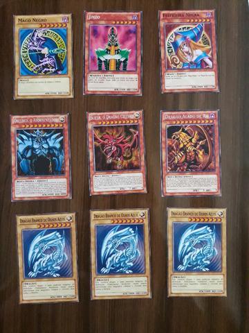 Lote com 20 cards yugioh