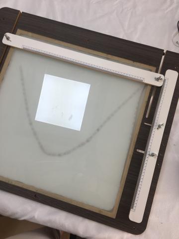 Mesa de luz e sombra 2 em 1 para Caligrafia e artes