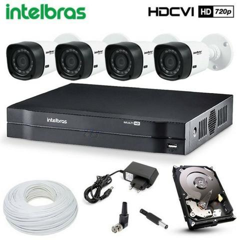 Kit câmeras intelbras * instalado