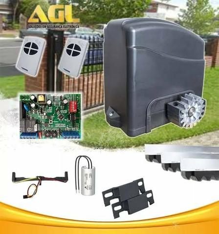 Motor Deslizante AGL 1/4 + Instalação + 01 Ano Garantia