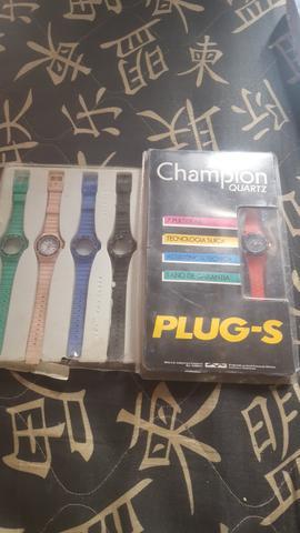 2 kits relógios da Champion quartz