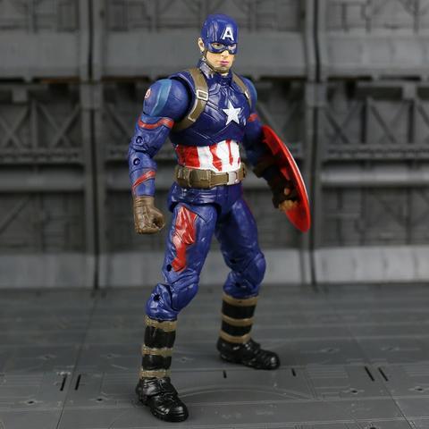 Boneco do Capitão América Vingadores Guerra Civil