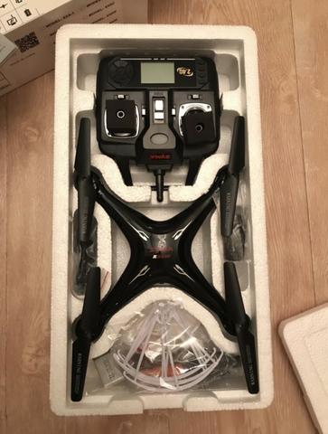 Drone com camera,imagens em tempo real,com 5 baterias,Novo