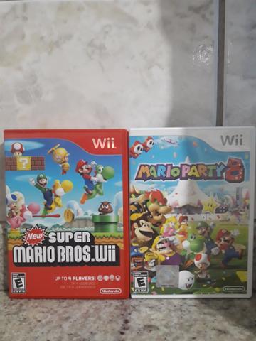 Jogos Original Nintendo Wii Americano.