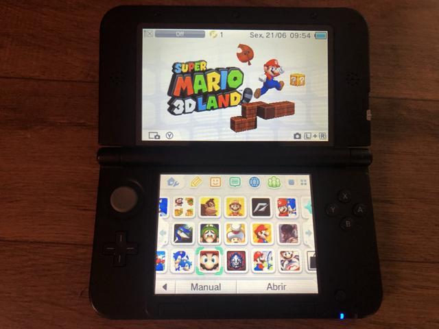Nintendo 3DS XL EDIÇÃO SUPER MÁRIO