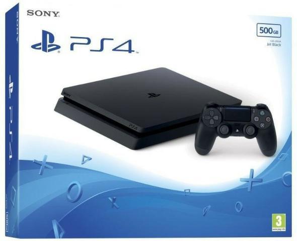 PlayStation 4 Slim 500GB cuh-a novo até 12X