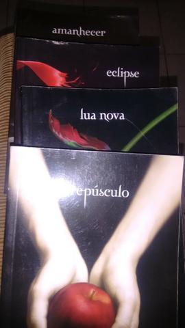Coleção Completa Muito Nova do Crepúsculo!