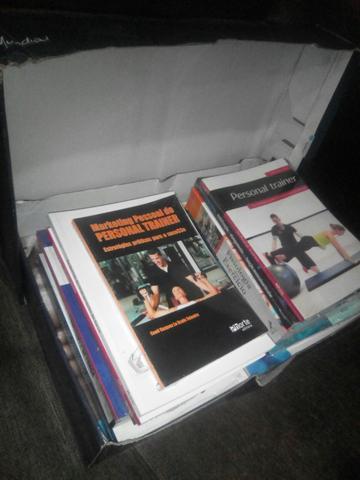 Conjunto de Livros de Educação Física