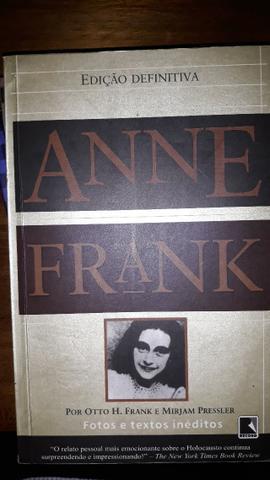 Livro - Diário de Anne Frank - Edição Definitiva