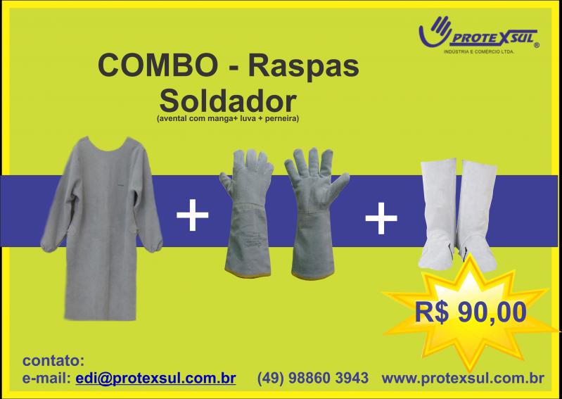 Protexsul - COMBO soldador raspa